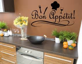 Chef Home Decor Bon Appetit Kitchen Chef Wall Quote Home Decor Decal J49