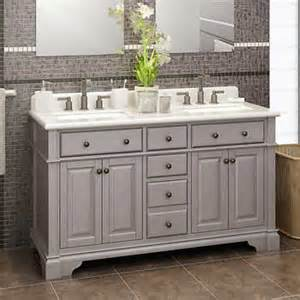 casanova 60 quot antique gray sink vanity by lanza