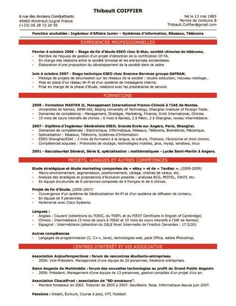 resume cv anglais resumes cv