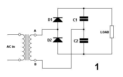 diode voltage multiplier circuit diode applications