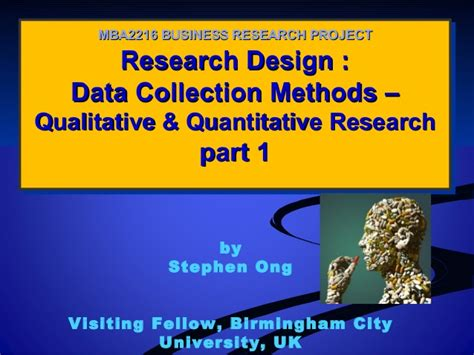 Academic Research Part Time Mba by Sle Essay About Data Collection Methods In Business