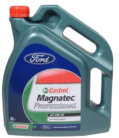Oli Castrol Magnatec Professional Sae 5w 30 1 Liter castrol magnatec professional a5 5w 30 5 l ford de