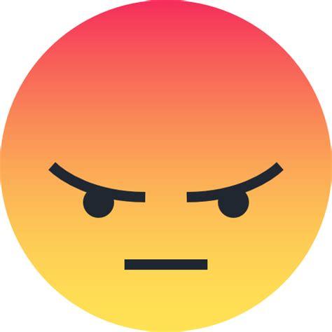 imagenes emoji enojado icono enojado emo emoticon cara gratis de reactions icons