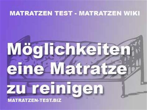 wie kann matratzen reinigen m 246 glichkeiten eine matratze zu reinigen matratzen test