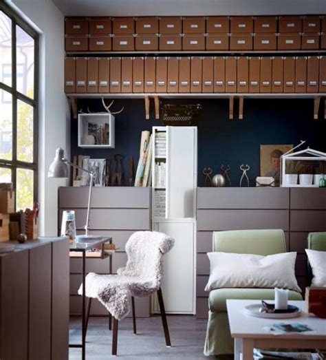 ikea workspace organization ideas 2013 stylish