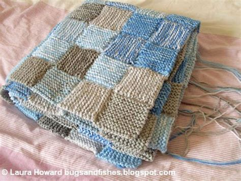 Patchwork Knitted Blanket - 1000 images about sky and weather temperature blankets
