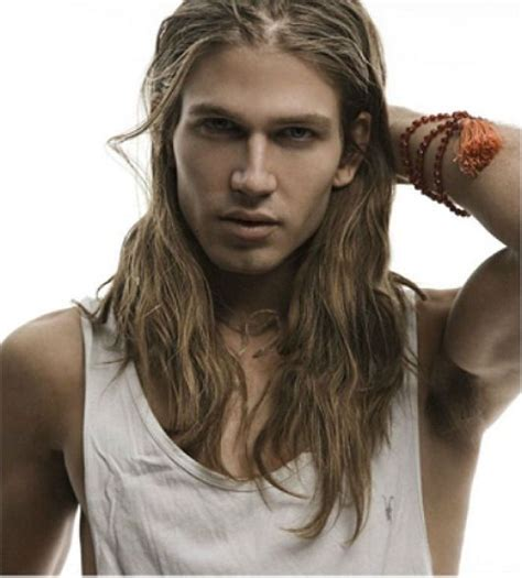 boys long hair makeout photo people model models androgyny indie style
