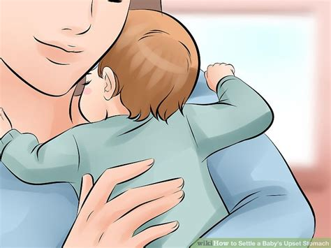 how to settle a s stomach 4 ways to settle a baby s upset stomach wikihow