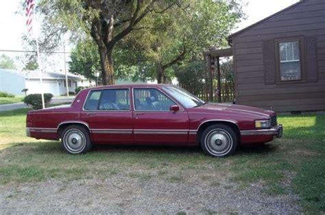 1993 cadillac deville base sedan 4 door 4 9l