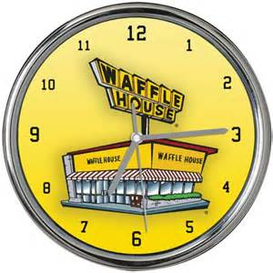 Cool House Clocks by New Waffle House Chrome Wall Clock Cool Clocks Pinterest