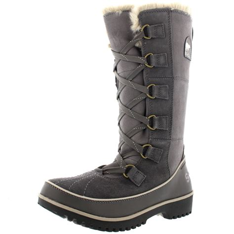 womens sorel tivoli high ii winter snow waterproof
