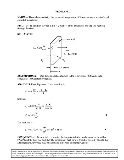 What Is A Heat L Used For by Heat Transfer Cengel Second Edition Bipende