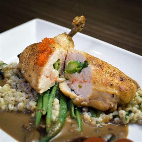 chicken supreme chicken supreme with barley risotto by eleanor tay