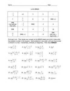 What Did One Math Book Say To The Other Worksheet by Pictures Calculus Limits Worksheet Toribeedesign