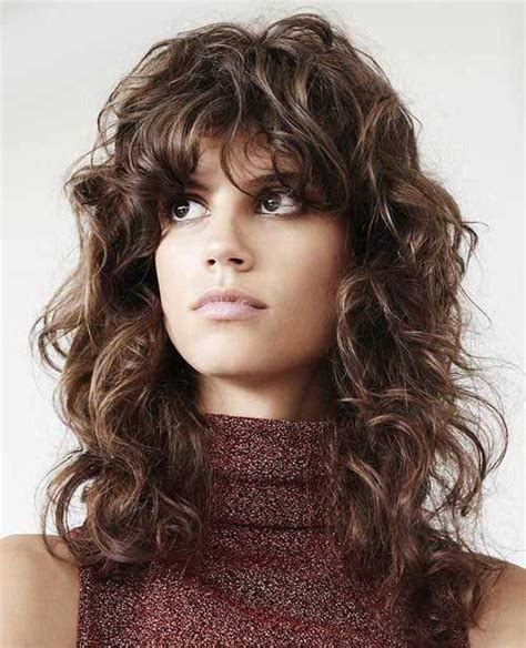 hairstyles for curly hair no bangs 20 curly hairstyles with bangs long hairstyles 2016 2017