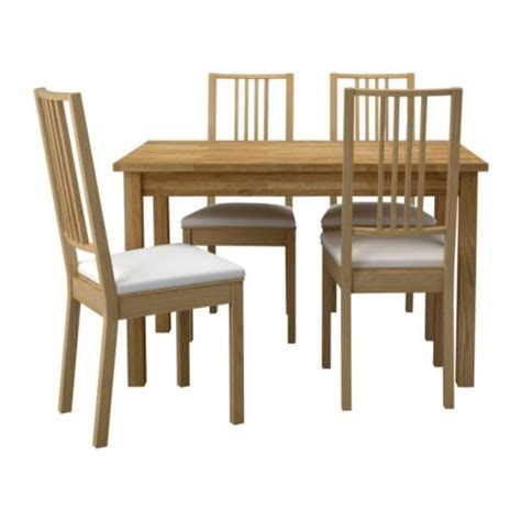 Ikea Dining Table With 4 Chairs Ekensberg B 214 Rje Table And 4 Chairs Ikea