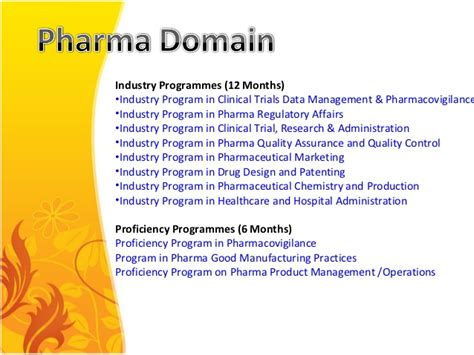 Distance Mba In 6 Months by Distance Learning Program In Pharma