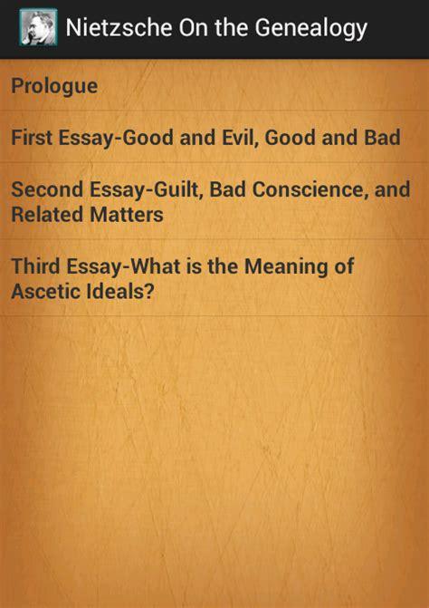 Nietzsche Genealogy Of Morals Preface And Essay by Nietzsche Genealogy Of Morals Android Apps On Play
