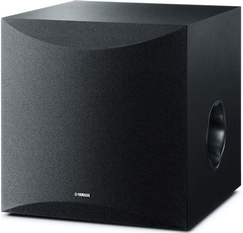 Yamaha Ns Pa150 Ns Sw050 Black yamaha ns sw050 black subwoofer in home cinema at audio affair