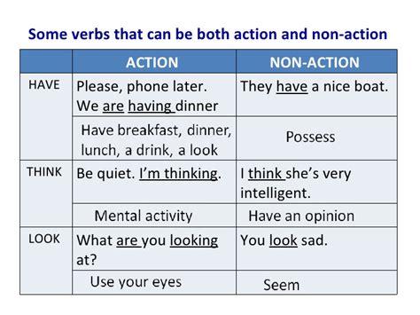 non verbs explanation