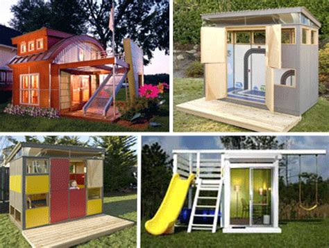 Kids Backyard Forts Playhouse Wonders 11 Insane Over The Top Clubhouse