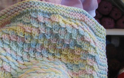 knitting blanket baby blanket easy level knitting pattern 2 75