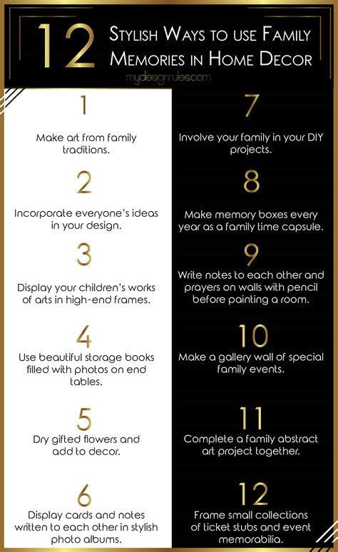 home decorating design rules make memories home decor3 my design rules
