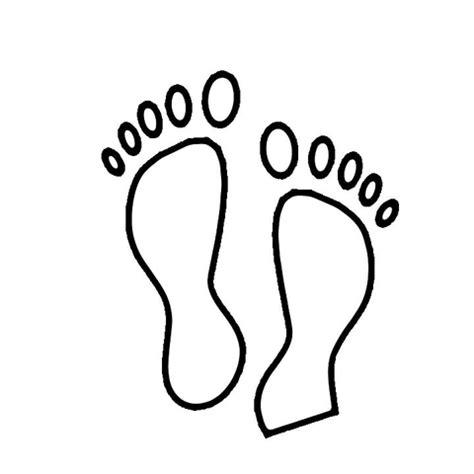 baby footprints coloring pages footprint coloring page free printable coloring pages