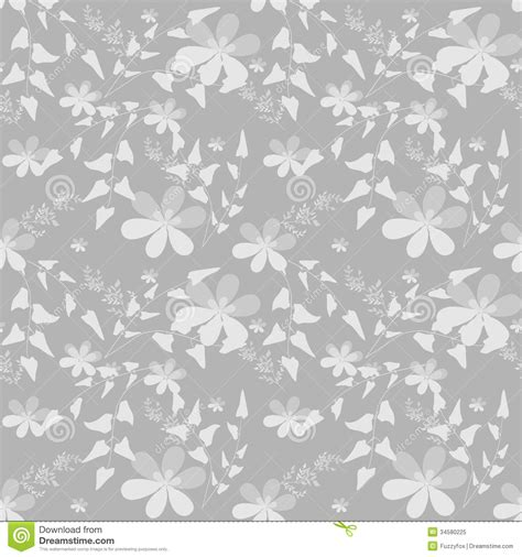pattern on grey background abstract seamless floral pattern royalty free stock photo