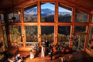 gatlinburg cabin wedding packages abiding grace