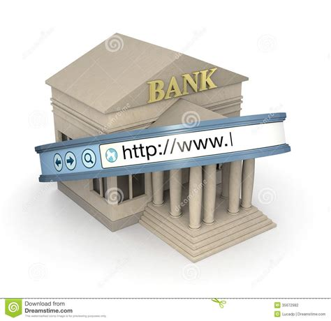 d bank banking banking stock photography image 35672982