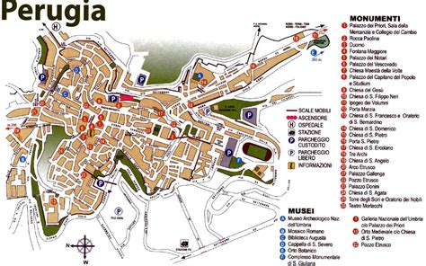map of perugia italy perugia italy map