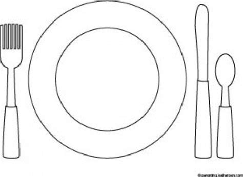place setting template printable thanksgiving coloring pages hubpages