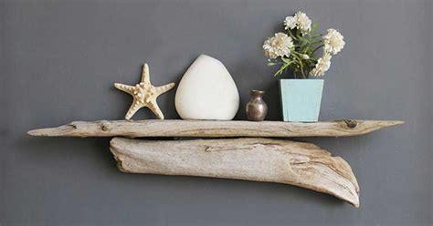 mensole di legno fai da te mensole fai da te con legno di mare ideadesigncasa