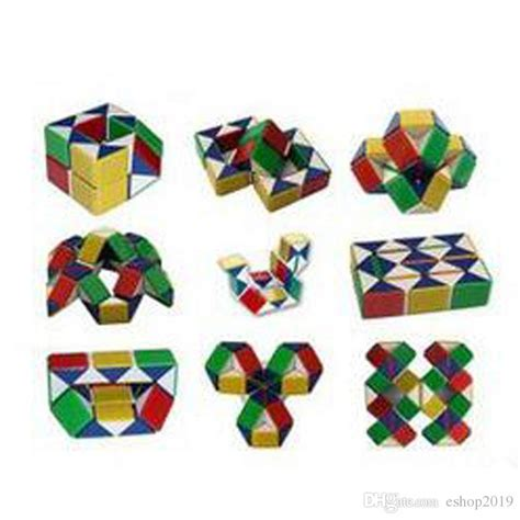Rubik Snake Snack Ular Magic Promo 2015 new magic snake snakelike shape cube puzzle for adults magic cube cube puzzle
