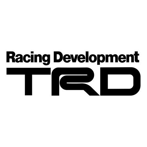 toyota logo transparent trd racing development logo png transparent svg vector