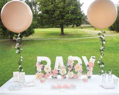Garden Baby Shower Decorations by Best 20 Garden Baby Showers Ideas On