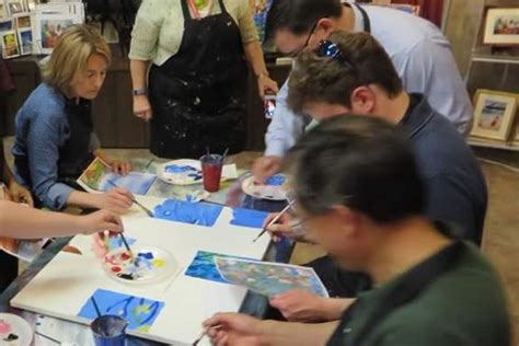 painting for team building corporate team building painting events wine