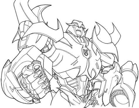 Megatron Coloring Pages megatron transformers prime coloring page transformers coloring transformers