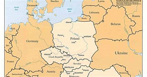eastern euope map maps eastern europe map