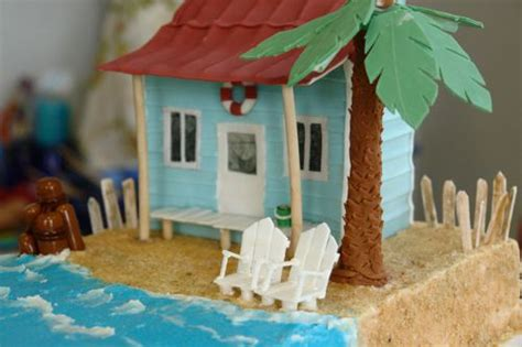 gingerbread beach house 51 best girl scout gingerbread house images on pinterest