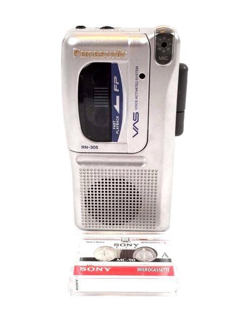 cassette recorder for sale panasonic micro cassette recorder for sale classifieds
