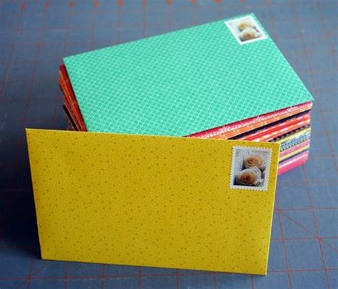 How To Make Your Own Scrapbook Paper - complete for how to make your own envelopes