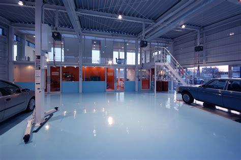 Car Interior Design Shops by Future Scape Architects Mederu Auto Repair Shop