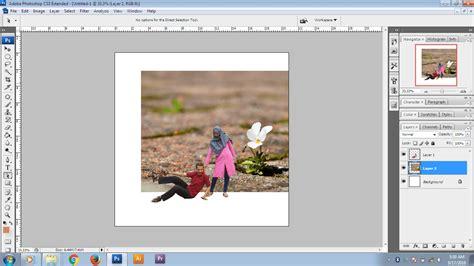 desain grafis photoshop cs3 cara mudah mengedit foto mini people dengan photoshop cs3