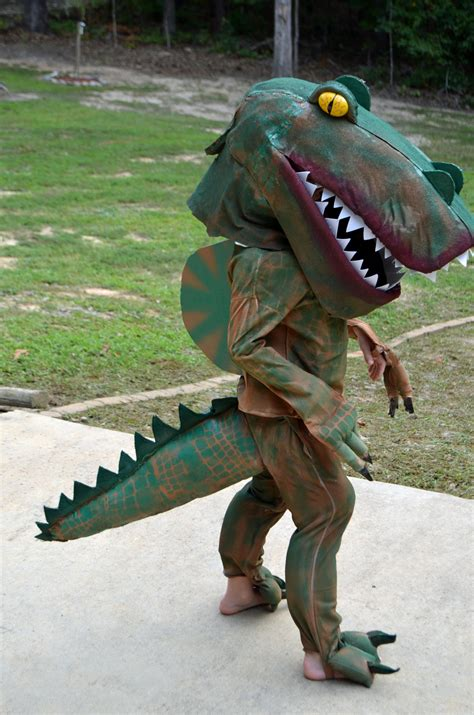 Handmade Dinosaur Costume - dinosaur costume handmade for honeysuckle
