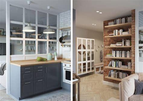 mini appartamenti mini appartamento in azzurro bianco e legno design