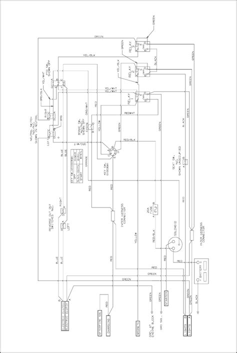wiring diagram for cub cadet zero turn the wiring