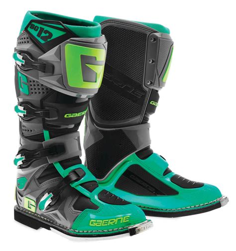 closeout motocross boots 421 00 gaerne mens sg 12 mx motocross off road riding