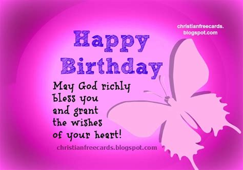 Happy Birthday God Bless You Quotes Free Christian Cards January 2014